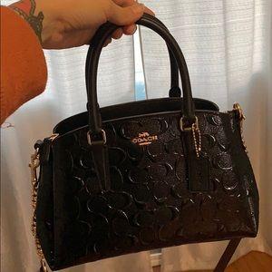 Handbags - NWT Coach patent crossbody Debossed